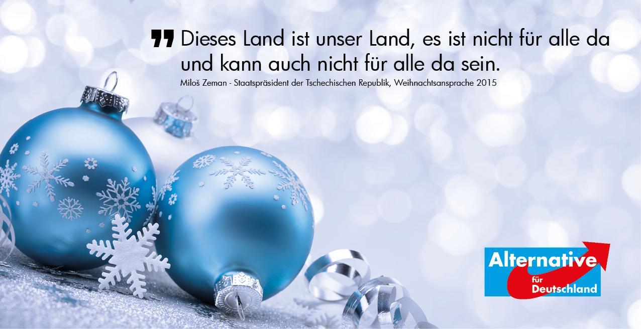 Frohe Weihnachten Aus Deutschland.Frohe Weihnachten Afd Osterholz Unser Land Unsere Heimat